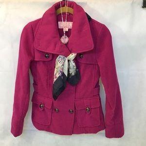 Pink Envelope Beautiful Pink Pea Coat